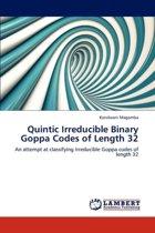 Quintic Irreducible Binary Goppa Codes of Length 32