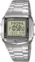 Casio Collection DB-360N-1AEF - Horloge - 36 mm - Staal - Zilverkleurig