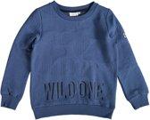 Name it zachte blauwe sweater Maat - 116