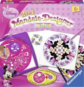 Ravensburger Midi Mandala Minnie Mouse 2-in-1