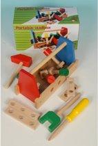 Gereedschaps Kist Marionette Houten Speelgoed
