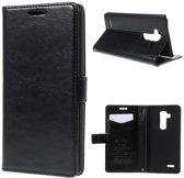 KDS Smooth wallet hoesje LG G2 mini zwart