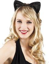 24 stuks: Tiara velvet Kattenoren