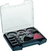 Bosch 36 delige i BOXX Pro Set binnenafwerking 36 accessoires voor Multitool