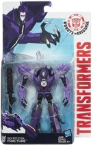 Transformers RID Decepticon Fracture - Warrior Class - Robot