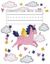 Unicorn Composition Notebook: Journal, for Kid