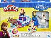 Play-Doh Disney Frozen Arreslee voor Kerstmis Avontuur - Klei