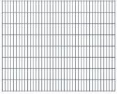 vidaXL Dubbelstaafmatten 2008 x 1630mm 46m Grijs 23 stuks