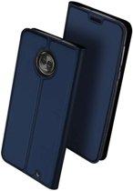 DUX DUCIS Motorola Moto G6 Plus hoesje - TPU Wallet Case - blauw