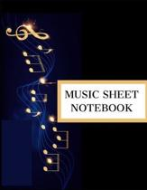 Music Sheet Notebook