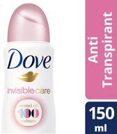 Dove Invisible Care Deodorant - 6 x 150 ml - Voordeelverpakking