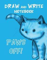 Draw and Write Notebook Cat Journal