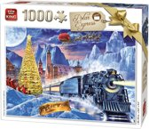 King Puzzel 1000 Stukjes - Polar Express