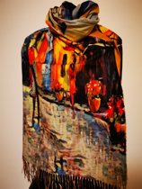 Paco's Valladolid Art Dames Wintersjaals