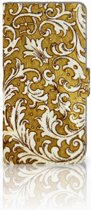 iPhone Xs Max Boekhoesje Design Barok Goud