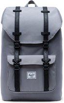 Herschel Supply Co. Little America Mid-Volume Rugzak 17 liter - Grey / Black