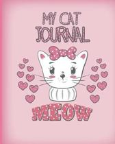 My Cat Journal Meow