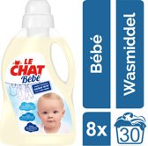 Le Chat Baby Kwartaalverpakking - 240 wasbeurten (8 x 30) - Wasmiddel