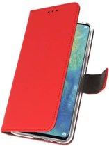 Huawei Mate 20 X Rood | Wallet Case Hoesje  | WN™