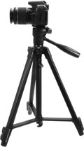 Professionele Universele DSLR Camerastatief - Voor de Sony / Canon / Nikon Camera – Tripod 131cm