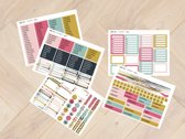 planner Stickers strepen 1003 voor Mascha Planner