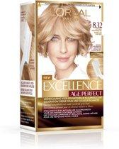 L'Oréal Paris Excellence Age Perfect 8.32 - Licht Goud Parelmoerblond - Haarverf