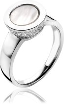 Zinzi zir1118-54 - zilveren ring parelmoer