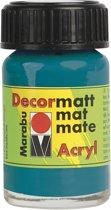 Decormatt acryl 15 ml - Turkoois