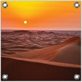 Tuinposter –Woestijn– 50x50cmFoto op Tuinposter (Wanddecoratie voor buiten en binnen)
