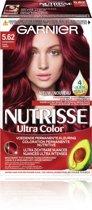 Garnier Nutrisse Ultra Color 5.62 - Levendig Rood - Haarverf
