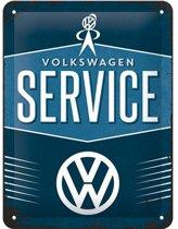 Muurplaatje Volkswagen service 15 x 20 cm