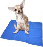 Duvo Koelmat Hond - Blauw - L: 90 x 50 cm