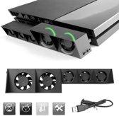 Ventilator voor PS4 cooling fan NIET voor PS4 PRO - zwart -  Levay ®