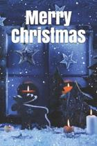 Merry Christmas Notebook, Cristmas Journal, Christmas Diary, Santa Claus - One Subject - 120 Pages: lined notes 6x9 in