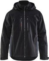 Bläkläder functionele winterjas - Zwart/Grijs