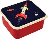 Brooddoos Space Age - Raket - Ruimte van Rex London