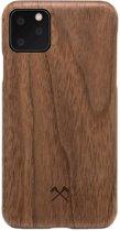 Woodcessories - iPhone 11 Pro Hoesje - EcoCase Slim Walnoot Bruin