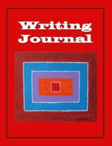Writing Journal, 160 Lined Pages, White Paper, Glossy Finish, 8.5''x 11''