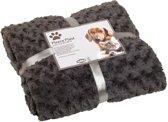 Nobby - Fleece deken - lichtgrijs - 60 X 85 CM