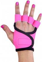 Hot Pink - Fitness handschoenen M