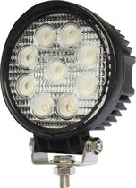 LED werklamp rond 27watt Lens: 60 gr. 2200 lumen