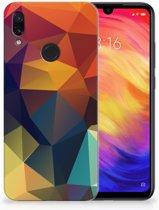 Xiaomi Redmi Note 7 TPU Hoesje Design Polygon Color