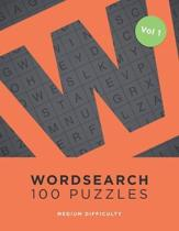Wordsearch 100 Puzzles: Word Search Book For Adults - 100 Puzzles