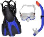 vidaXL - Snorkelset - Kinderen - 30-34 - Blauw