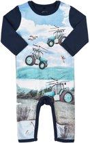 Me Too Jongens Boxpak Organic Cotton Blauw met tractoren - Maat 68