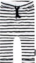 Your Wishes Unisex Broek Stripes - wit - Maat 74/80