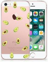 iPhone SE | 5S Uniek TPU Hoesje Avocado