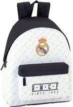 Real Madrid Rugzak - 42 cm - Wit, Zwart