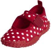 Playshoes UV strandschoentjes Kinderen Dots - Rood - Maat 18/19
