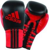 adidas Safety Sparring Bokshandschoenen Veter Zwart/Rood 14 Oz